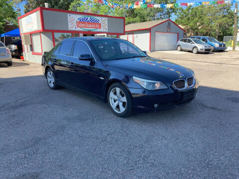2007 BMW 5 Series for sale at FUTURES FINANCING INC. in Denver CO