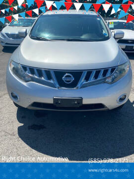 2009 Nissan Murano for sale at Right Choice Automotive in Rochester NY