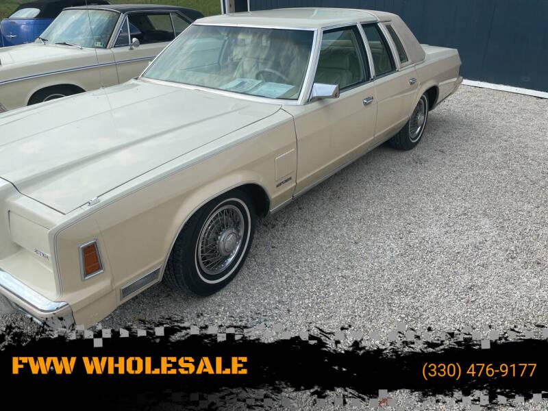 1979 Chrysler New Yorker for sale in Carrollton, OH