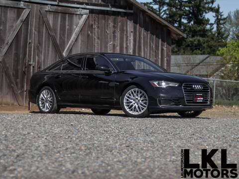 2016 Audi A6 for sale at LKL Motors in Puyallup WA