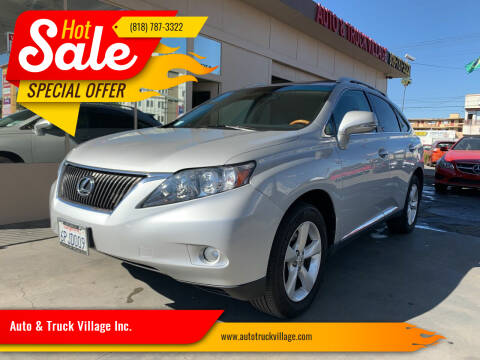 2011 Lexus RX 350 for sale at Auto & Truck Village Inc. in Van Nuys CA