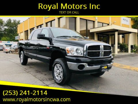 2009 Dodge Ram Pickup 2500 for sale at Royal Motors Inc in Kent WA