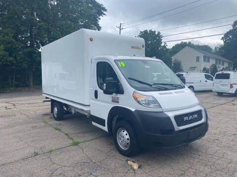 2019 RAM ProMaster Cutaway Chassis for sale at Auto Towne in Abington MA