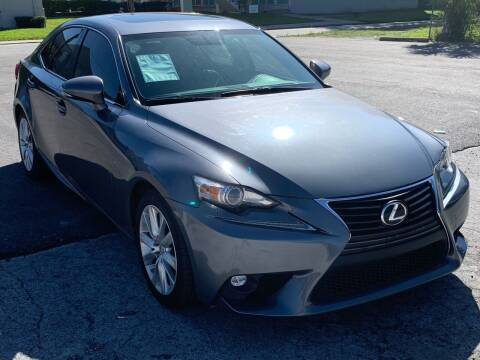 2015 Lexus IS 250 for sale at Consumer Auto Credit in Tampa FL