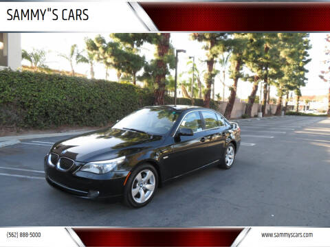 """2008 BMW 5 Series for sale at SAMMY""""S CARS in Bellflower CA"""