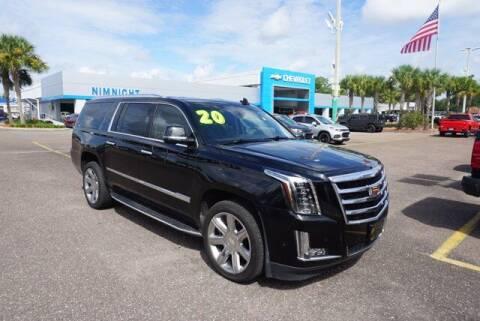 2020 Cadillac Escalade ESV for sale at WinWithCraig.com in Jacksonville FL