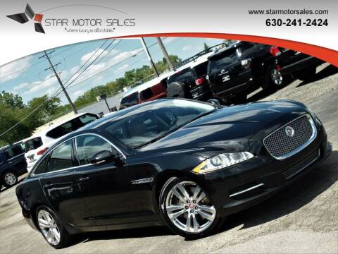 2015 Jaguar XJL for sale at Star Motor Sales in Downers Grove IL