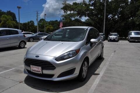 2014 Ford Fiesta for sale at STEPANEK'S AUTO SALES & SERVICE INC. in Vero Beach FL