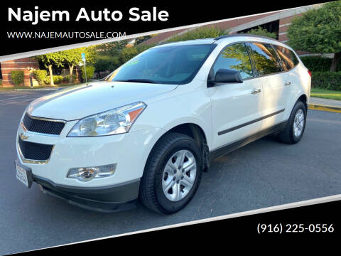 2012 Chevrolet Traverse for sale at Najem Auto Sale in Sacramento CA