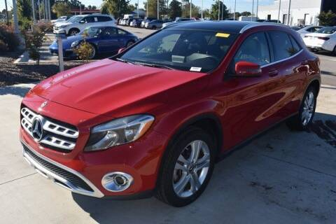 2018 Mercedes-Benz GLA for sale at PHIL SMITH AUTOMOTIVE GROUP - MERCEDES BENZ OF FAYETTEVILLE in Fayetteville NC