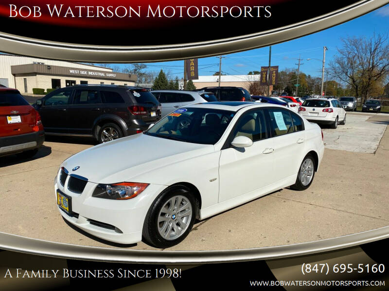 2006 BMW 3 Series for sale at Bob Waterson Motorsports in South Elgin IL