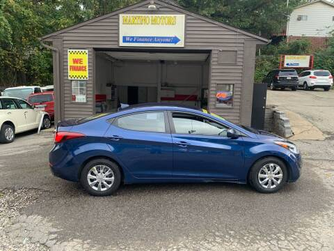2016 Hyundai Elantra for sale at Martino Motors in Pittsburgh PA