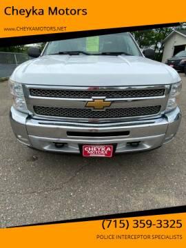 2013 Chevrolet Silverado 1500 for sale at Cheyka Motors in Schofield WI
