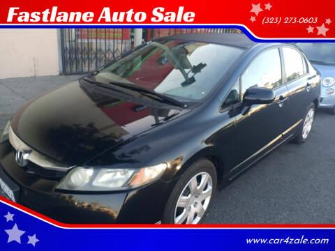 2009 Honda Civic for sale at Fastlane Auto Sale in Los Angeles CA