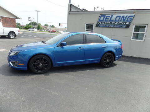 2011 Ford Fusion for sale at DeLong Auto Group in Tipton IN