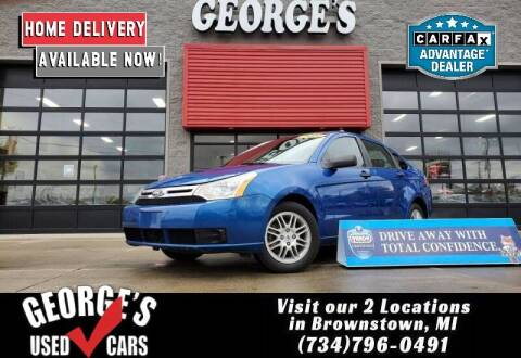2010 Ford Focus for sale at George's Used Cars - Pennsylvania & Allen in Brownstown MI