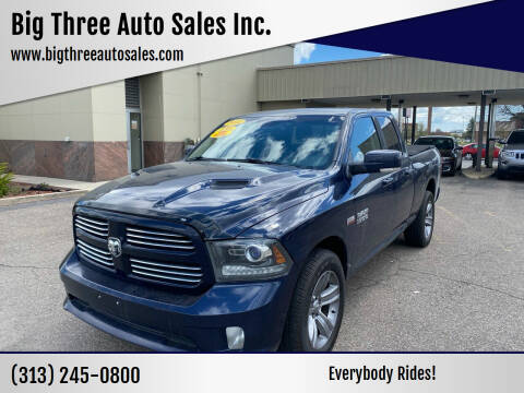 2014 RAM Ram Pickup 1500 for sale at Big Three Auto Sales Inc. in Detroit MI