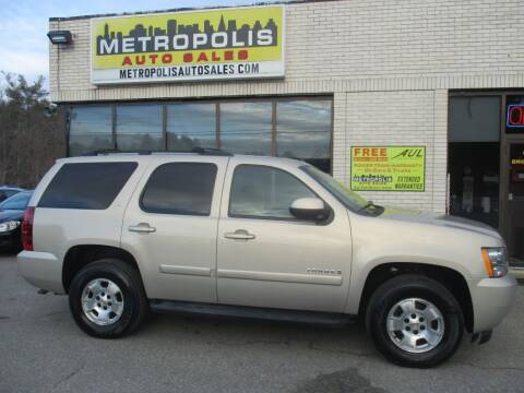 2009 Chevrolet Tahoe for sale at Metropolis Auto Sales in Pelham NH