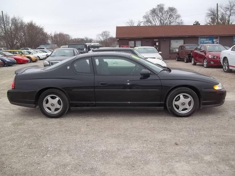 2001 Chevrolet Monte Carlo for sale at BRETT SPAULDING SALES in Onawa IA