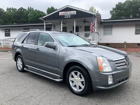 2005 Cadillac SRX for sale at CVC AUTO SALES in Durham NC