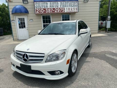 2008 Mercedes-Benz C-Class for sale at Silver Auto Partners in San Antonio TX