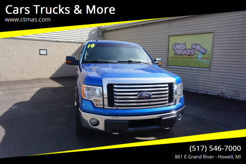 2010 Ford F-150 for sale at Cars Trucks & More in Howell MI