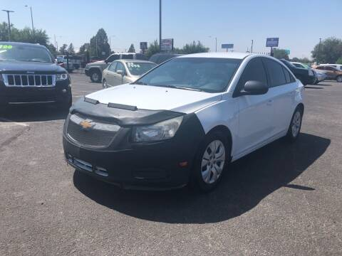 2013 Chevrolet Cruze for sale at Car & Truck Gallery in Albuquerque NM