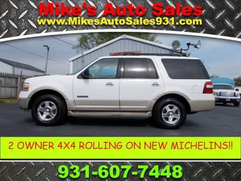 2007 Ford Expedition for sale at Mike's Auto Sales in Shelbyville TN