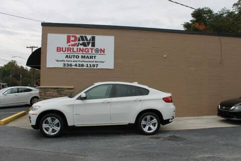 2013 BMW X6 for sale at Burlington Auto Mart in Burlington NC