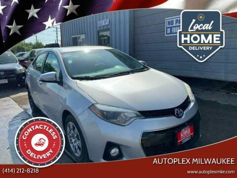 2014 Toyota Corolla for sale at Autoplex 2 in Milwaukee WI