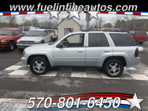 2008 Chevrolet TrailBlazer for sale at FUELIN FINE AUTO SALES INC in Saylorsburg PA