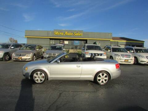 2003 Audi A4 for sale at MIRA AUTO SALES in Cincinnati OH