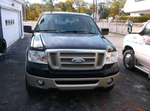 2008 Ford F-150 for sale at M & N CARRAL in Osceola IN