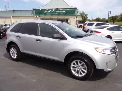 2014 Ford Edge for sale at Jim O'Connor Select Auto in Oconomowoc WI