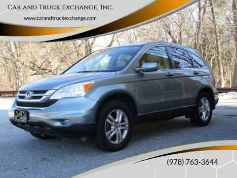 2011 Honda CR-V for sale at Car and Truck Exchange, Inc. in Rowley MA