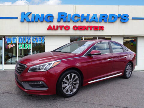 2016 Hyundai Sonata for sale at KING RICHARDS AUTO CENTER in East Providence RI