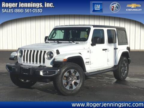 2018 Jeep Wrangler Unlimited for sale at ROGER JENNINGS INC in Hillsboro IL