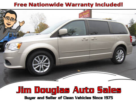 2014 Dodge Grand Caravan for sale at Jim Douglas Auto Sales in Pontiac MI