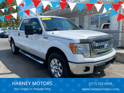 2014 Ford F-150 for sale at HARNEY MOTORS in Gettysburg PA