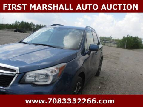 2014 Subaru Forester for sale at First Marshall Auto Auction in Harvey IL