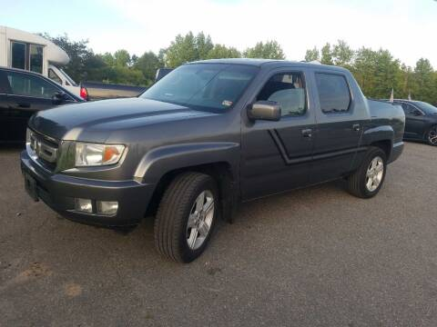 2011 Honda Ridgeline for sale at Complete Auto Credit in Moyock NC