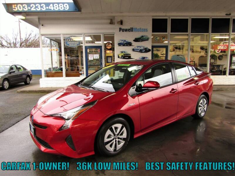 2017 Toyota Prius for sale at Powell Motors Inc in Portland OR