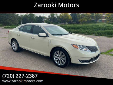 2015 Lincoln MKS for sale at Zarooki Motors in Englewood CO