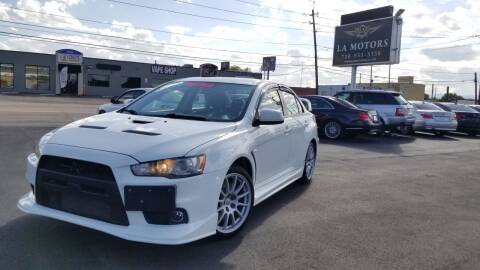 2008 Mitsubishi Lancer Evolution for sale at LA Motors LLC in Denver CO