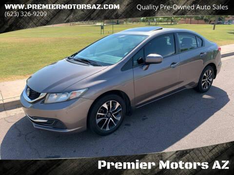 2015 Honda Civic for sale at Premier Motors AZ in Phoenix AZ