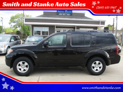 2011 Nissan Pathfinder for sale at Smith and Stanke Auto Sales in Sturgis MI