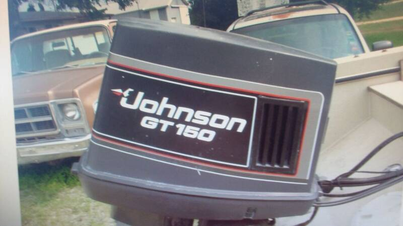 1990 Johnson  GT 150 V6 VRO for sale at Dave's Auto Sales & Service in Weyauwega WI