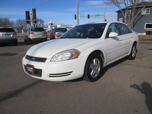 2007 Chevrolet Impala for sale at SCHULTZ MOTORS in Fairmont MN