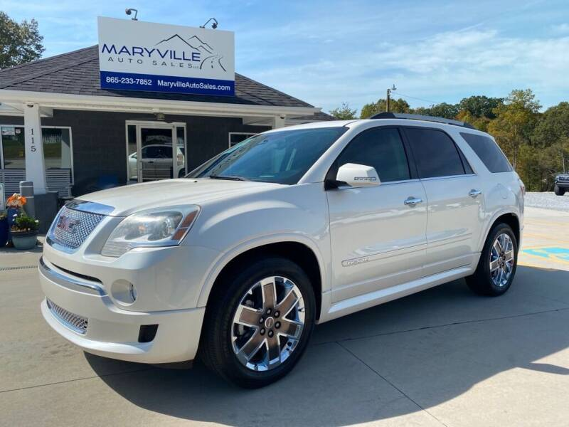 2012 GMC Acadia for sale at Maryville Auto Sales in Maryville TN