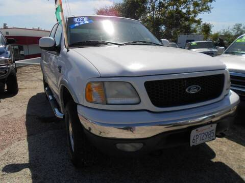 2002 Ford F-150 for sale at Mountain Auto in Jackson CA